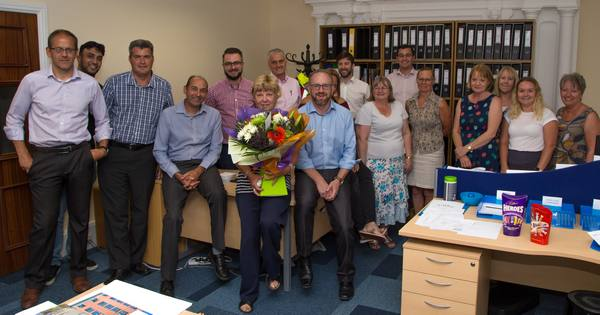 Image for Dedicated Sandra celebrates 40 years at Bovis Homes