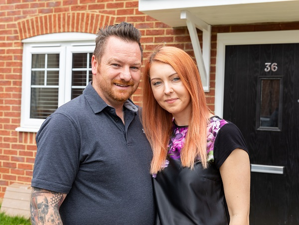 Image for Worthing first-timers back Help to Buy after snapping up new-build in their home town