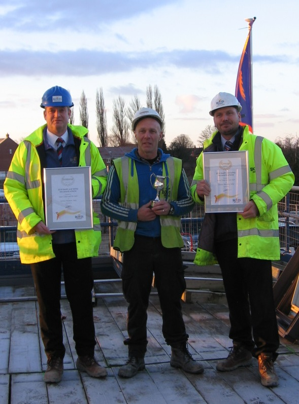 Health and safety award for Selby site manager