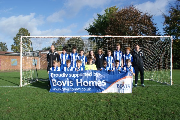 Image for Sponsorship boost for Shefford Saints