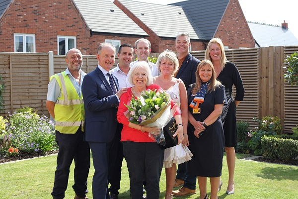 Image for Warwickshire sales specialist to fly to son's wedding in US as she retires from housebuilder