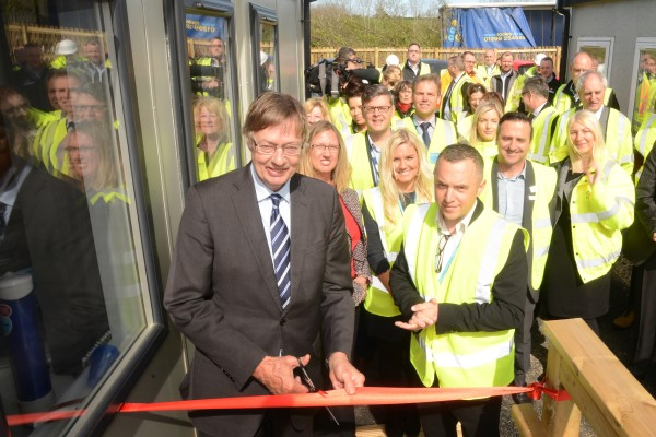 Image for Devon MP Gary Streeter officially opens new Sherford skills training centre