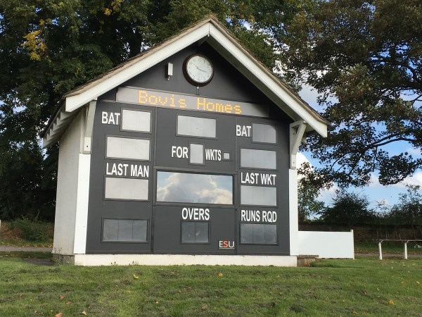 Shifnal Cricket Club score board