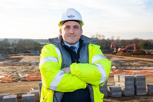 Image for Exciting milestone reached as work starts on new Shrivenham homes