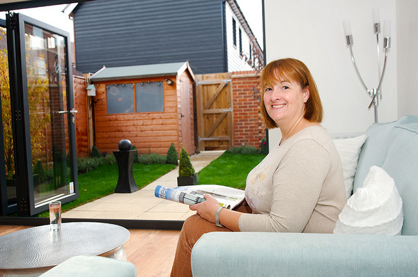 Image for Help to Buy makes Sarah's home and garden dream come true