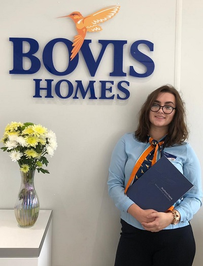 Image for Award-winning Bishop's Stortford apprentice Sofia calls on young women to join industry
