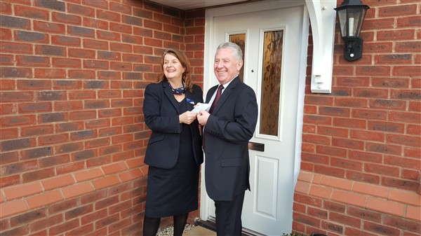 Image for Housebuilder supports Shropshire sports stars