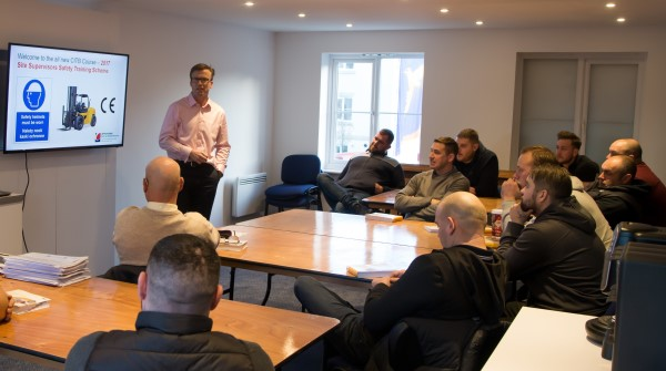 Image for Bovis Homes backs contractors with latest health and safety training