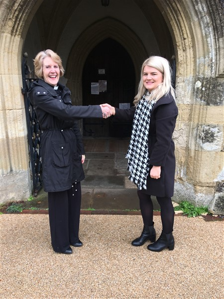 Image for Bovis Homes continues its community support with donation to historic Chinnor church