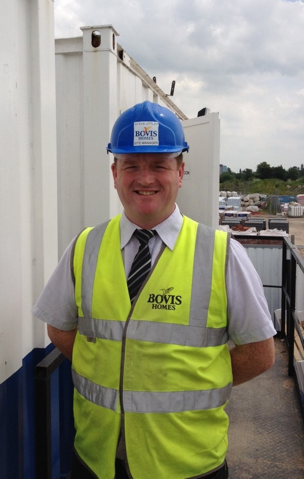 Steve lands top award for Bovis Homes at selby site
