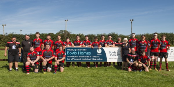 Image for Tavistock RFC receives support from local housebuilder on golden anniversary
