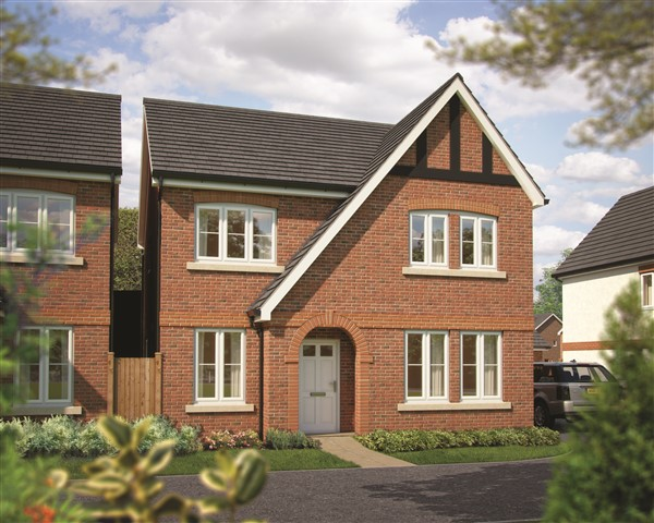 Image for Shropshire home hunters among first to view national housebuilder's exciting new range