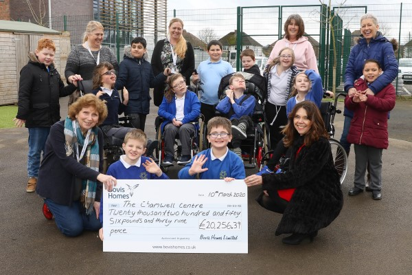 Image for Chamwell Centre in Gloucester receives £20,000 boost from county housebuilder