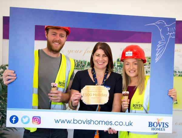 Image for Summer prize surprise for Upper Heyford home buyers