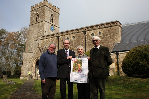 Image for Upper Heyford housebuilder offers blooming boost to church-bell campaign
