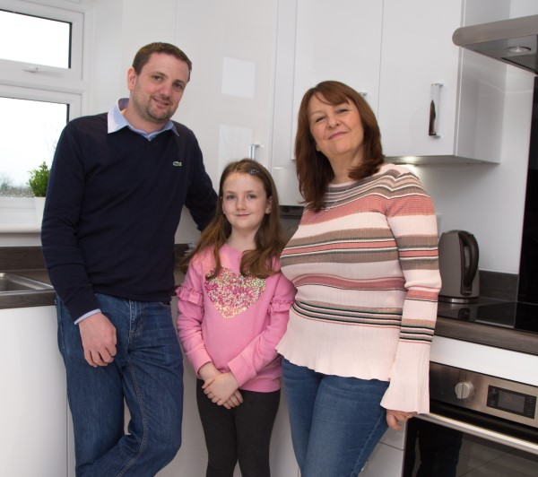 Image for Everything adds up perfectly for accountant Kieran in his family's new Wiltshire home