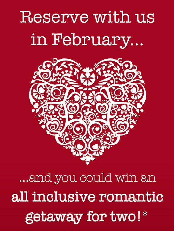 Image for Win an all-inclusive romantic getaway