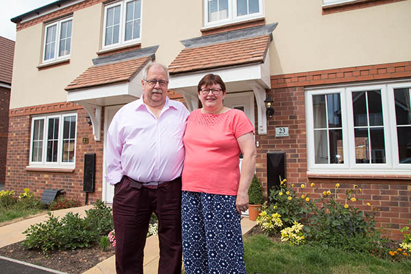 Image for Shifnal home proves that new-build is best, be it north, south, east or west!