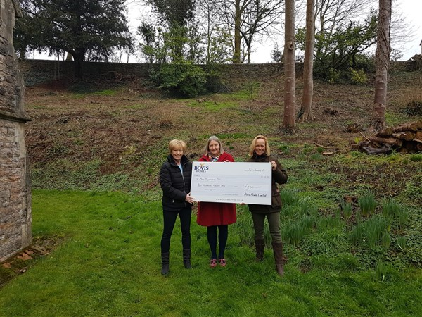 Image for Church garden will be blooming marvellous thanks to housebuilder donation