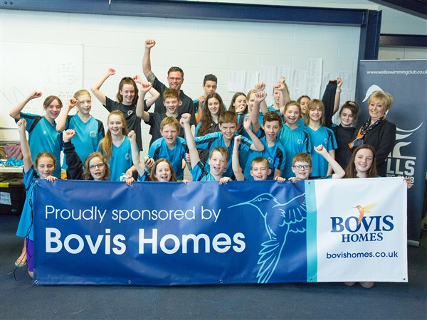 Image for Housebuilder supports swimming success in Wells