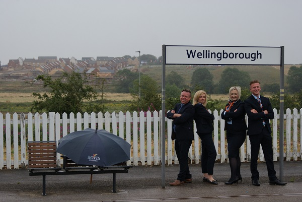 Image for House buyers in Wellingborough are snapping up new-build homes at young community