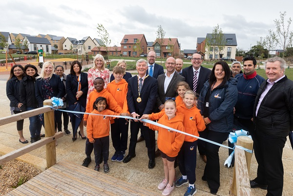 Image for Impressive Milton Keynes park – part of £750,000 joint venture – officially opens