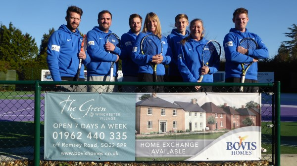 Image for Support from Bovis Homes is a smash hit for Winchester Racquets and Fitness
