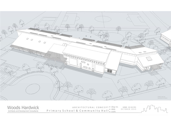 Plans for primary school at Windsor Park, Buckingham