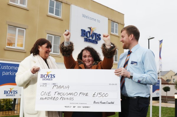 Image for Maria's Christmas cheer at breakfast as a Bovis Homes winner