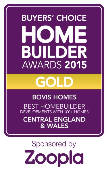 Best Homebuilder Development Central England award logo